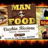 Bluesmec Live &amp Man vs Food alla Vecchia Riccione