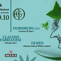 19.10 Goaultrabeat Dorisburg live Claudio Fabrianesi Dj Red