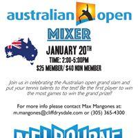 Australian Open Mixer