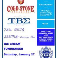 Cold Stone Creamery Fundraiser w Tau Beta Sigma Gamma Rho