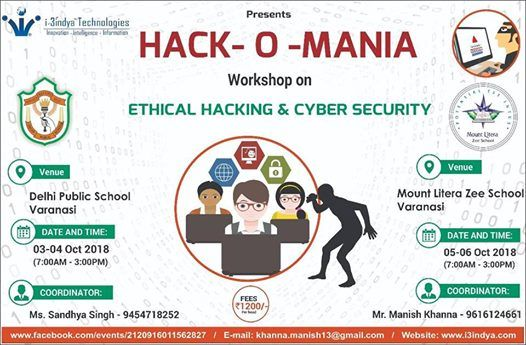 Ethical Hacking Cyber Security At Mount Litera Zee School Varanasi