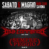 6 Maggio - Rude Club - DSACommandoSemprePeggioRebelCrewIRiff
