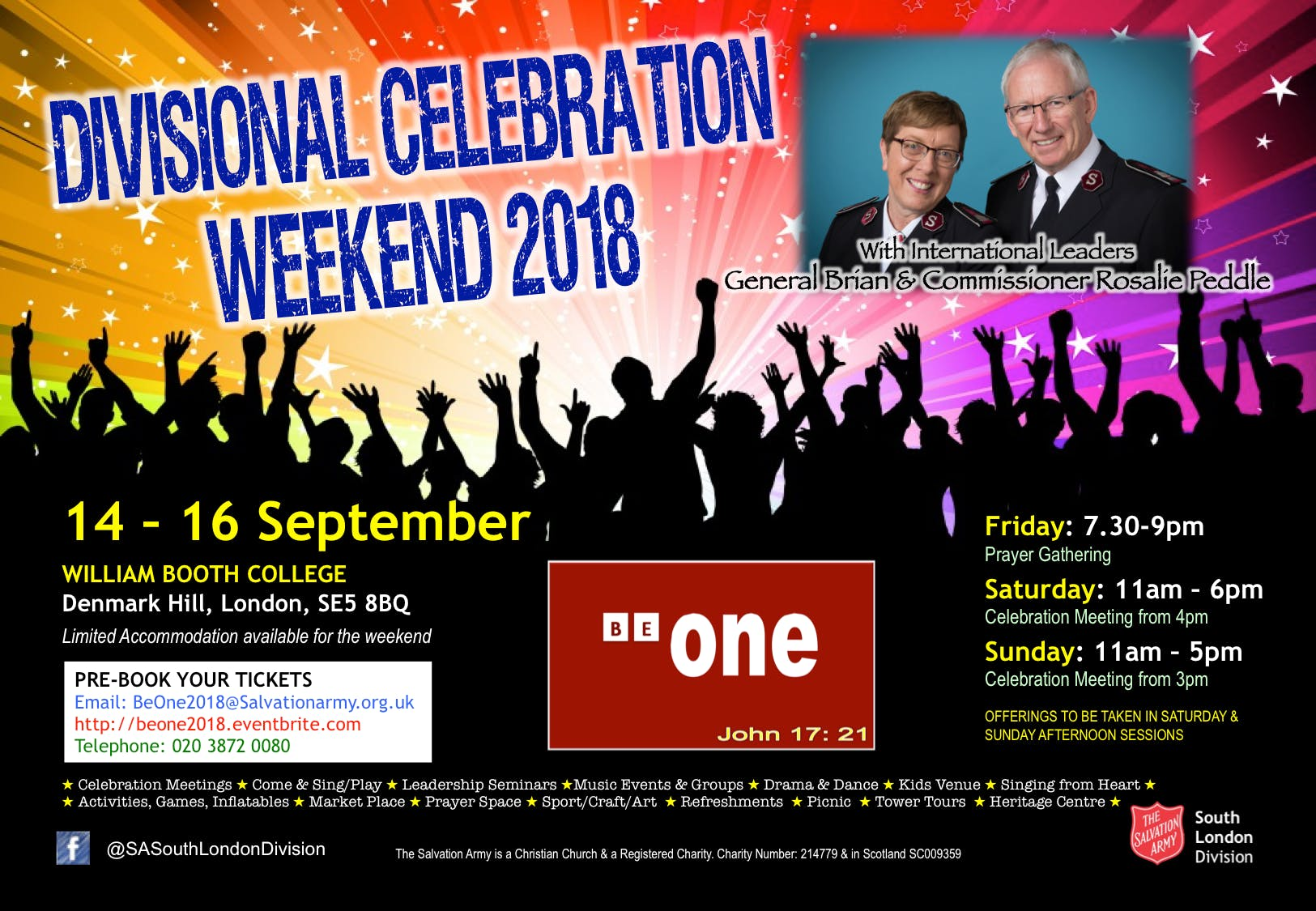 Divisional Celebration Weekend - BeOne