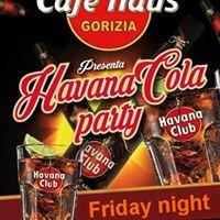Havana Cola Party Al Cafe Haus