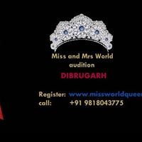 Miss and Mrs Dibrugarh Assam India World Queen and Mr India