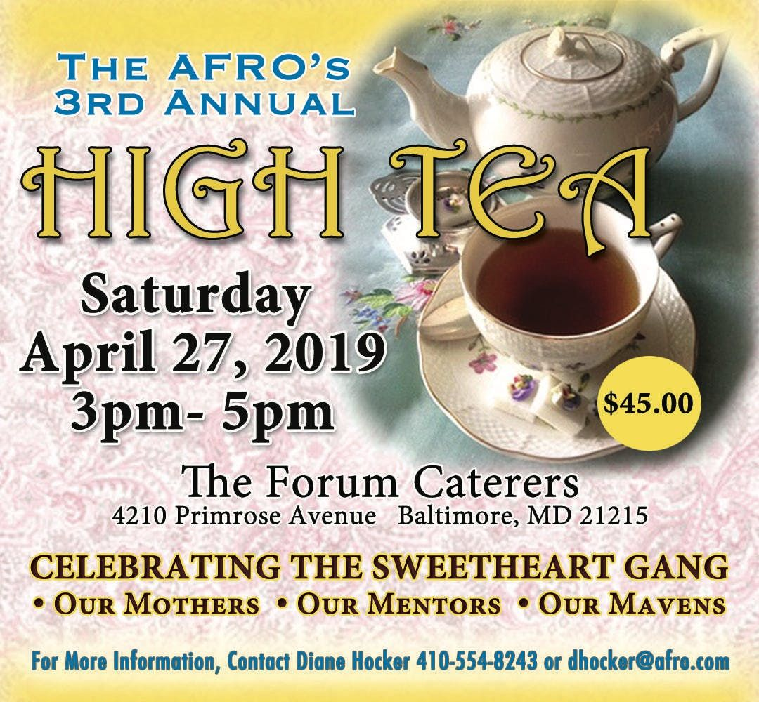 The AFRO American Newspapers 3rd Annual High Tea