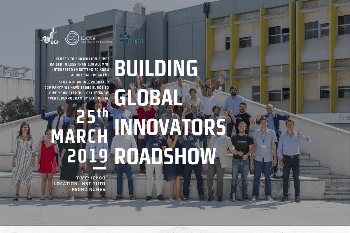 BGI & EIT Digital Venture Program Roadshow - IPN