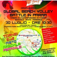 Global Beach Volley Battle in Parma