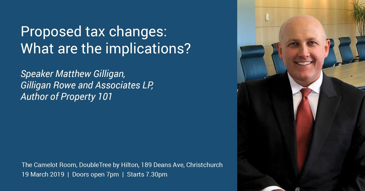 Proposed tax changes What are the implications