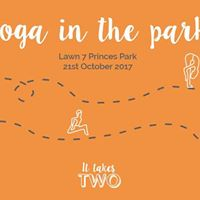 It Takes Two Yoga in the Park