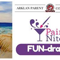 Arklan Paint Nite Fun-draiser