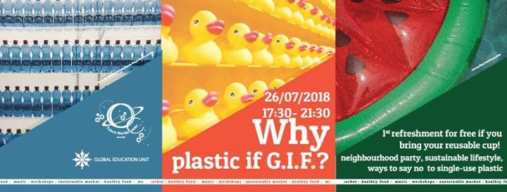 Why plastic if GIF