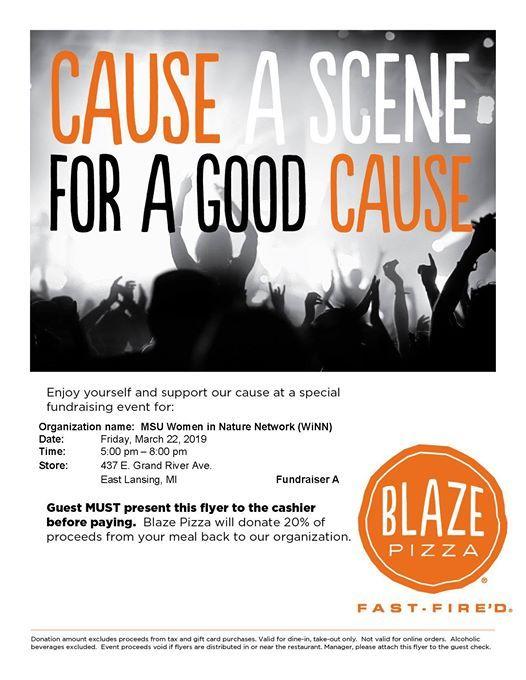 WiNN Fundraiser at Blaze Pizza