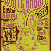 White Rabbit Easter Hippy Vintage Fair