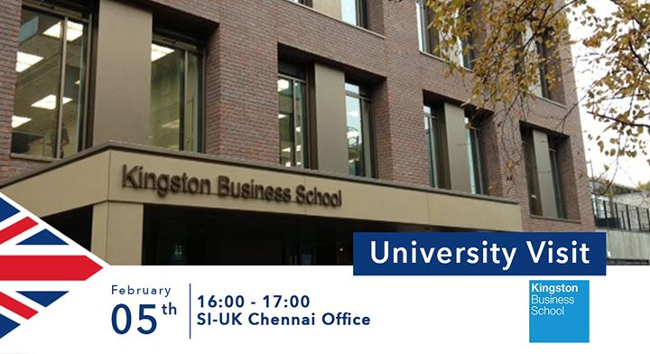 Kingston Business School Visiting SI-UK Chennai
