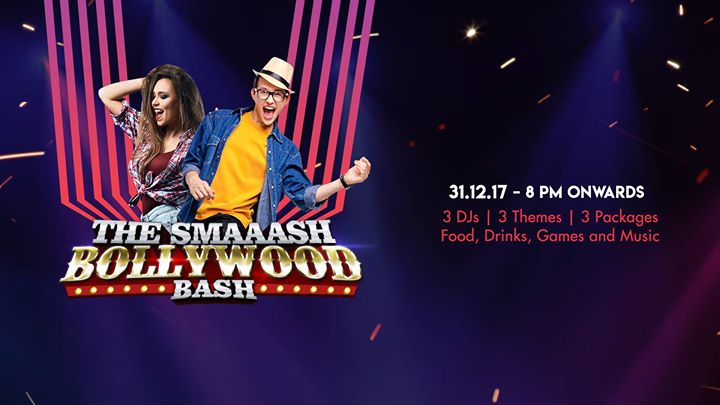 The Smaaash Bollywood Bash - New Years Eve Party