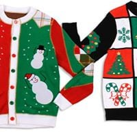 Impact Womens Ugly Sweater Christmas Party
