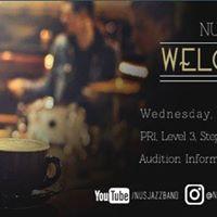 NUS Jazz Band Welcome Tea 2017