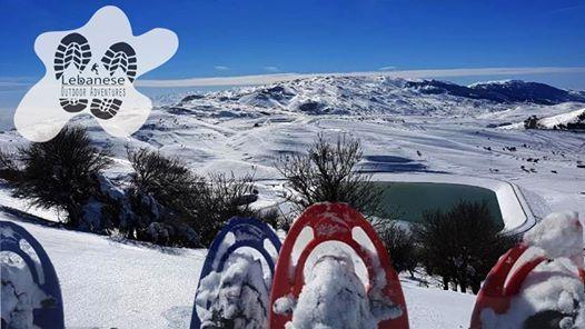Falougha Snowshoeing with Lebanese Outdoor Adventures - LOA