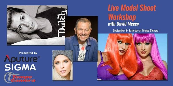 Live Model Shoot Workshop with David Mecey (Morning)