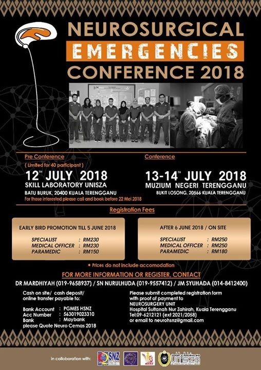 Neurosurgical Emergencies Conference 2018