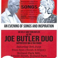 An Evening of Songs and Inspiration with Joe Butler Duo