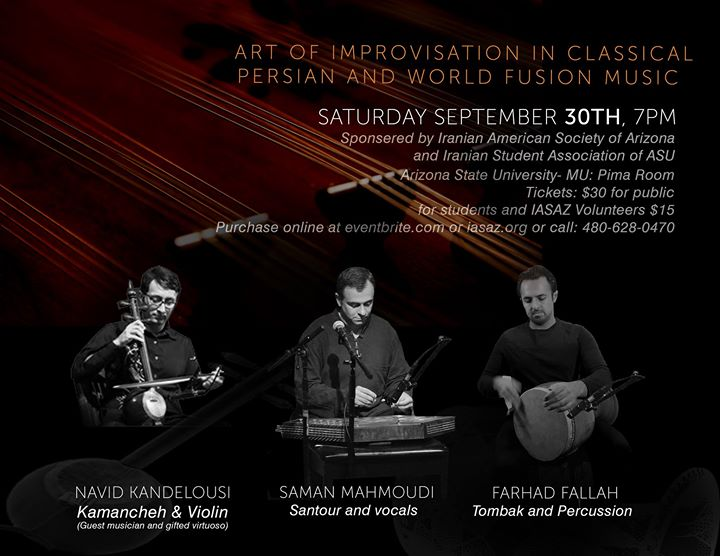 Improvisation in Classical Persian & World Fusion Music