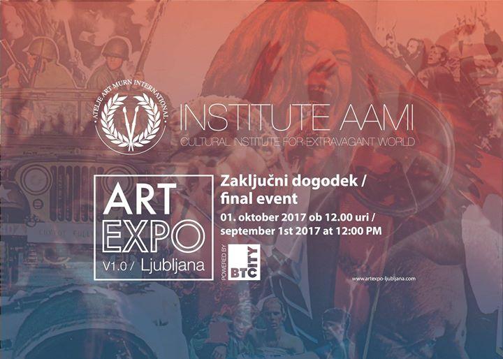 Zakljuni dogodek  1. ART Expo Ljubljana