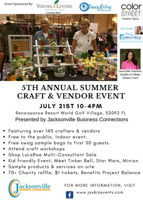 f5e618080c9bd 5th Annual Summer Craft   Vendor Event - Free to the Public at World ...