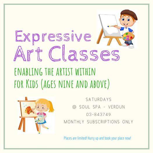 Expressive Art Classes for kids