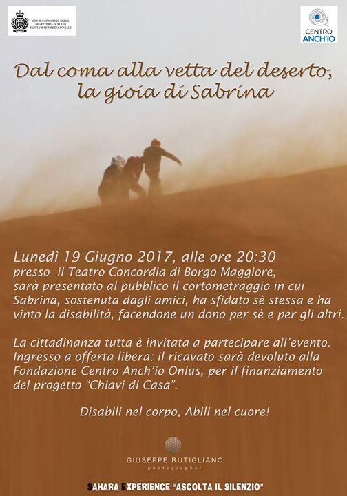 Disabili Nel Corpo Abili Nel Cuore At Teatro Concordia Rsm San Marino
