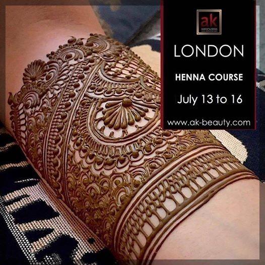 ASH KUMAR 4 Day Henna Course (LONDON)