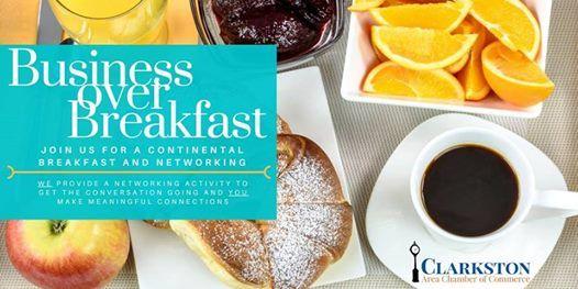April Business over Breakfast