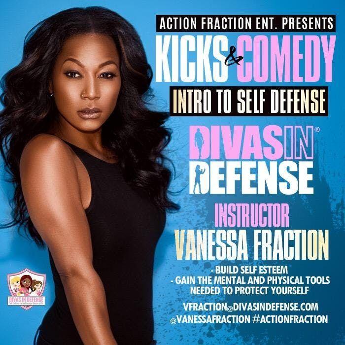 Kicks and Comedy - Self Defense Class & Comedy Show