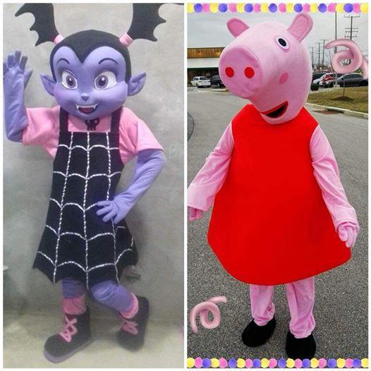 Meet greet with peppa pig and vampirina at all american steakhouse meet greet with peppa pig and vampirina m4hsunfo