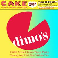 CAKE Street Team Pizza Party