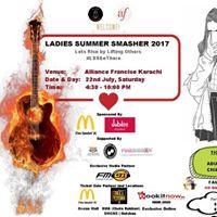 Ladies Summer Smasher 2017