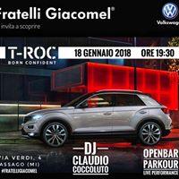 T-Roc con Claudio Coccoluto &amp Open Bar