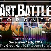 Art Battle Toronto - Holiday All-Stars