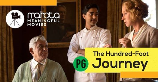 Mahota Meaningful Movie - The Hundred Foot Journey