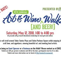 6th Annual AAUW-Concord Art and Wine (and Beer) Walk