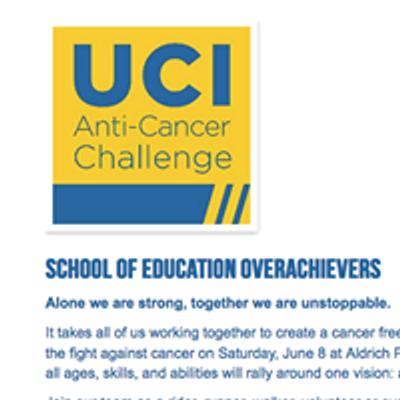 2019 Anti-Cancer Challenge - Team School of Ed Overachievers
