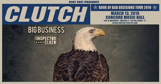 Clutch - Concord Music Hall - 31319