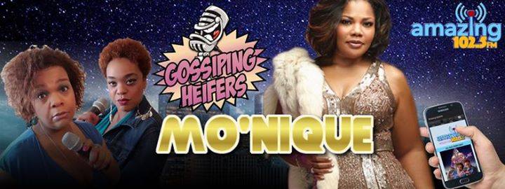 MoNique on the Gossiping Heifers Show
