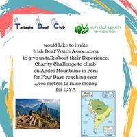IDYA challenge talk about Peru
