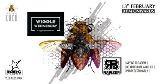 Wiggle Wednesday featuring Rajbeer