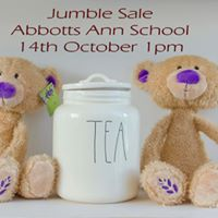 Jumble Sale Teas Cakes and lots more