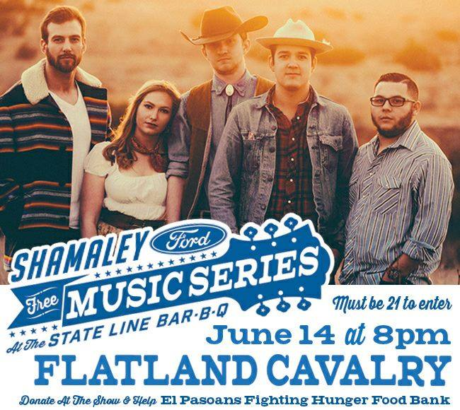 Shamaley Ford El Paso >> Shamaley Ford Music Series At The State Line Bar B Q El Paso