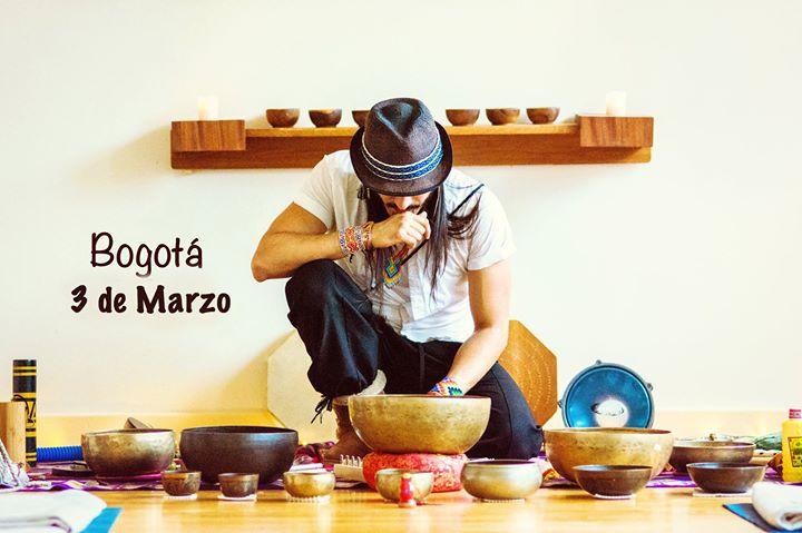 Ceremonia de Sonido Ancestral con Anthar Kharana - Bogota