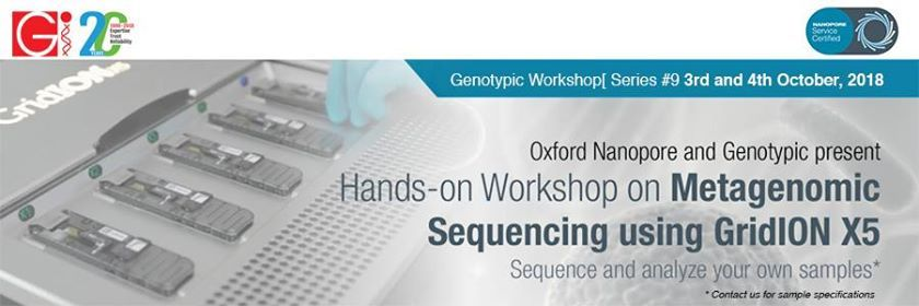 Workshop on Metagenomic Sequencing on the GridION X5